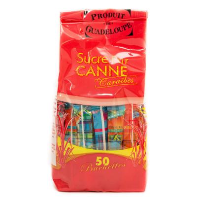 Sucre Canne 50 Buchettes,...