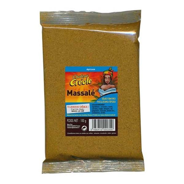 Massalé, 100g, Chaleur Créole