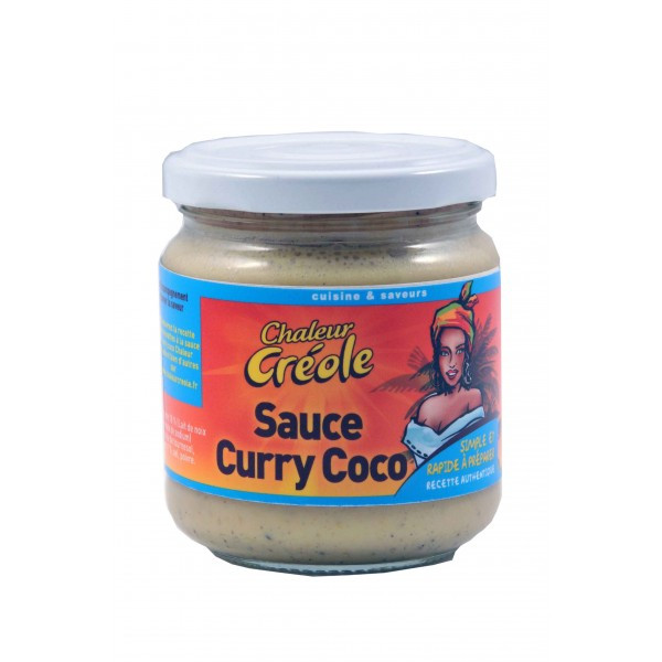 Sauce Curry Coco, 200g,...